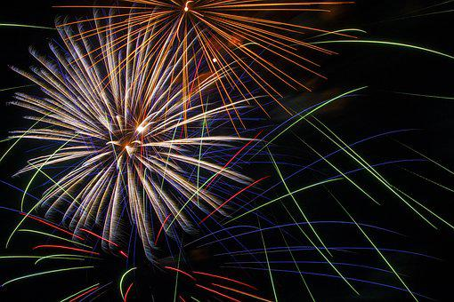 Fire, Fireworks, Burst, Boom, Explode, Celebrate