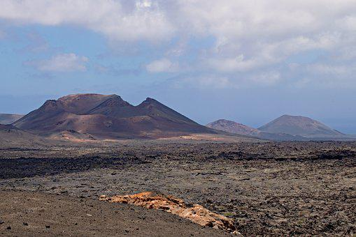 Timanfaya, National Park, Lanzarote, Canary Islands