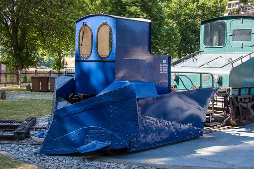 Locomotive, Loco, Snow Plough, Plough, Railway