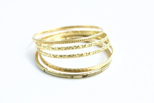 Jewelry, Bracelets, Gold, Vintage, Luxury, Jewellery