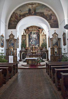 Olomouc, The Church Of Santa Maria Maggiore, Church