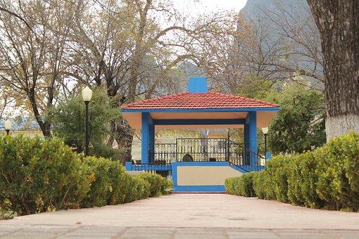 Mexico, Latin America, Rayones, Plaza, Place, Tourism