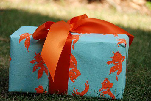 Gift, Present, Wrapped, Wrapping, Bow, Ribbon, Box