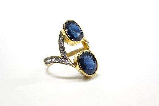 Luxury, Sapphire, Diamonds, Stone, Gem, Design, Jewelry