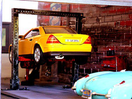 Car, Garage, Auto, Vehicle, Repair, Automobile