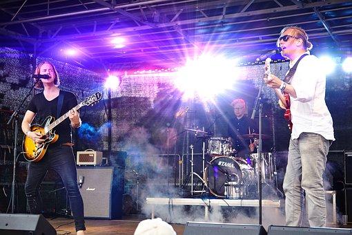 Band, Musicians, Music, Live, Gig, Bright Light