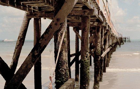Pier, Sea, Ocean, Beach, Nature, Dock, Outdoor, Coast