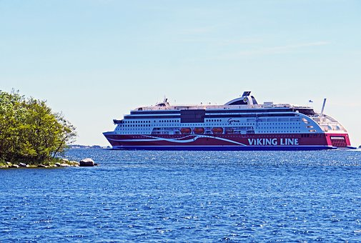 Deep-sea Ferry, Stockholm-helsinki, Finnish, Finland