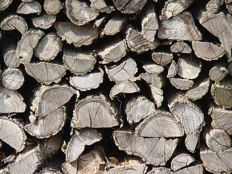 Wood, Holzstapel, Stack, Lumberjack, Firewood