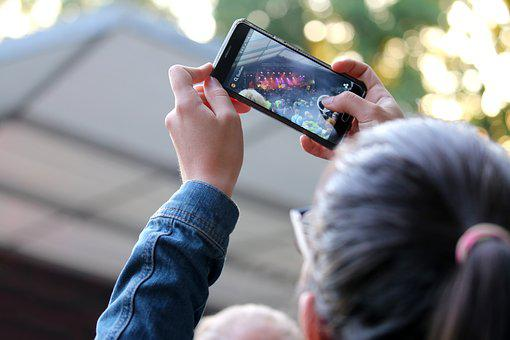 Music, Festival, Photograph, Mobile Phone, Concert