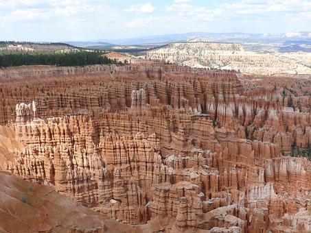 Nature, Bryce Canyon, Utah, National Park, Usa