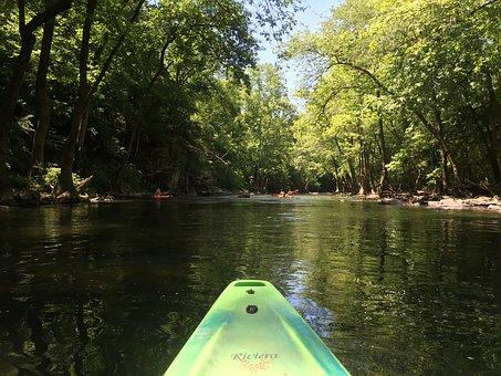 Canoe, Canoeing, Water, Boat, Paddle, Lake, Nature