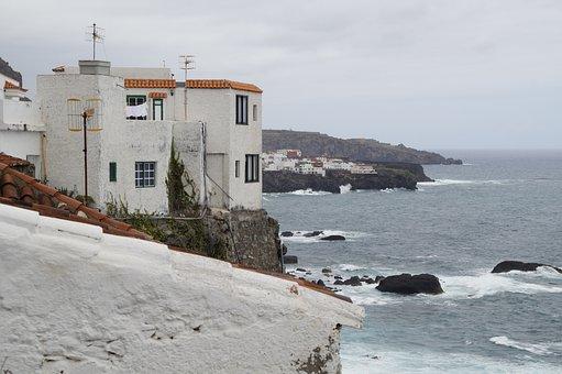 Tenerife, Coastal Village, Coast, North Coast