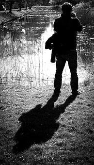 Man, Taking Photo, Shadow, Silhouette, People, Person