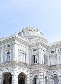 Monument, Museum, Singapore, Architecture, Landmark