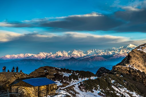 Mountains, Nepal, Nature, Landscape, Travel, Himalaya