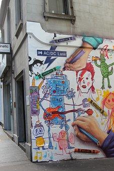Art, Graffiti, U, Urban, Wall, Artistic, City, Color