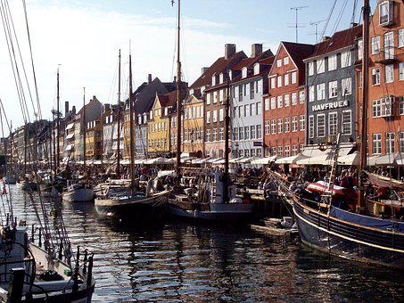 Copenhagen, Porto, Boats, Boat, Denmark, City