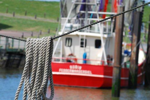 Fishing Vessel, Port, Dew, Fishing Boat, Boot, Shrimp