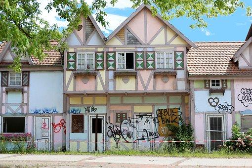 Home, Urban, Berlin, Spree River Park, Facade, Building