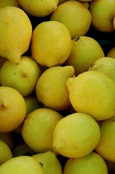 Lemons, Yellow, Sour, Citrus Fruits, Fruit, Lemon Tree