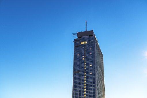 Berlin, Skyscraper, Architecture, Building, Facade