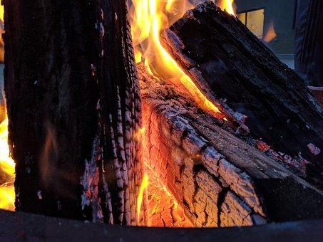 Camp Fire, Flames, Bonfire