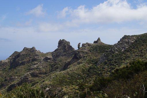 Teno Mountains, Tenerife, Mountains, Canary Islands