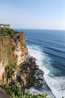 Bali, Sea, Cliff