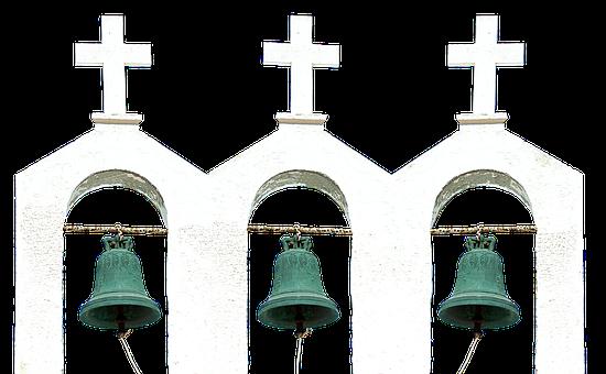 Bell, Steeple, Cross, Church, Chapel, Building