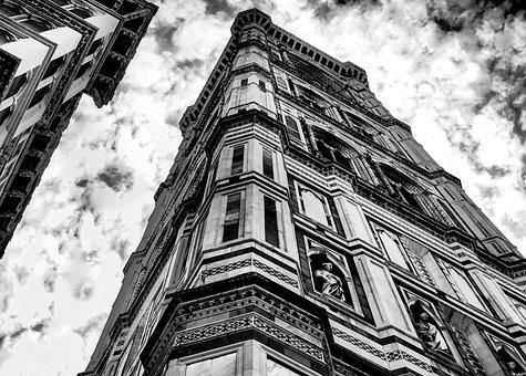 Florence, Italy, Europe, Tuscany, Campanile