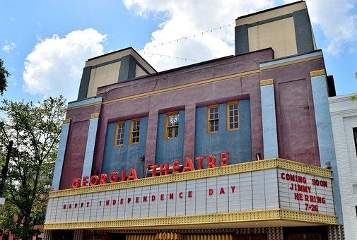 Famous, Georgia Theatre, Athens, Georgia, Landmark