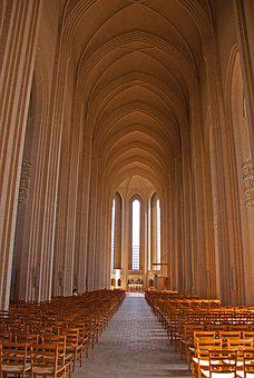 Grundtvig's Church, Church, Cathedral, Interior