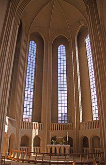 Grundtvig's Church, Church, Cathedral, Interior