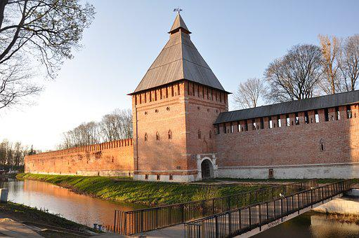 Architecture, House, Old House, The Kremlin, Stone Wall