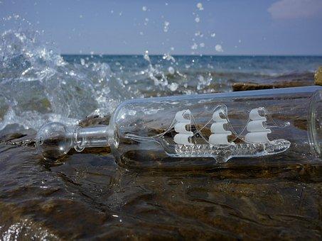 Summer, Water, Sea, Ocean, Holiday, Ship, Drop Of Water