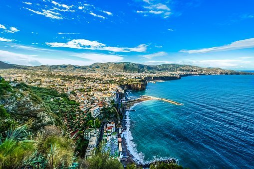 Amalfi, Coast, Shoreline, Italy, Italian, Mediterranean