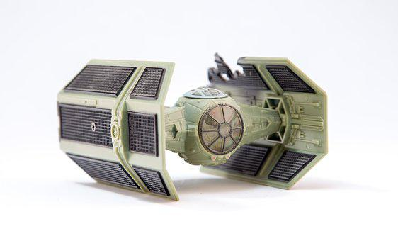 T-fighter, Star Wars, Model, Game, Space, Space Ship