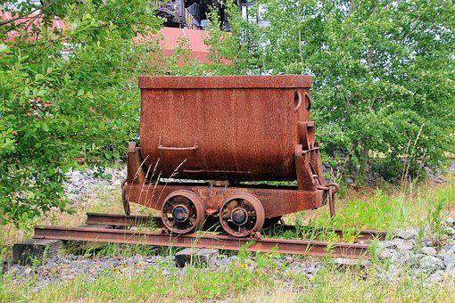 Iron Wagon, Wagon, Coal Wagon, Carbon, Transport, Steel