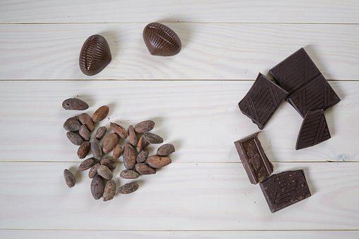 Chocolate, Cocoa Beans, Cocoa, Sweets, Dessert, Sweet
