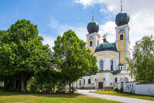 The Monastery Metten, Abbey, Benedictine, Bavaria
