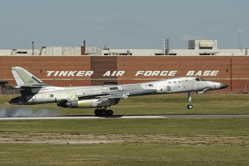 Natural Metal, B-1b, Lancer, Us Air Force, Usaf, Bomber