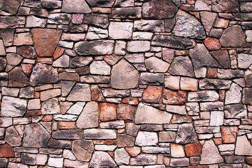 Stone Wall, Wall, Stone, Texture, Old, Pattern, Cement