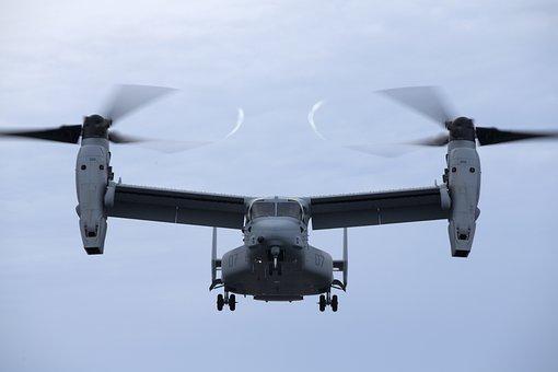 Mv-22, Osprey, Us Marines, Usmc, Air, Helicopter