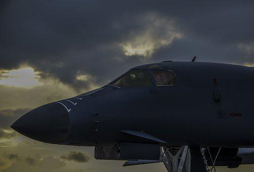 B-1b Lancer, Bomber, Aircraft, Air Force, Us Air Force