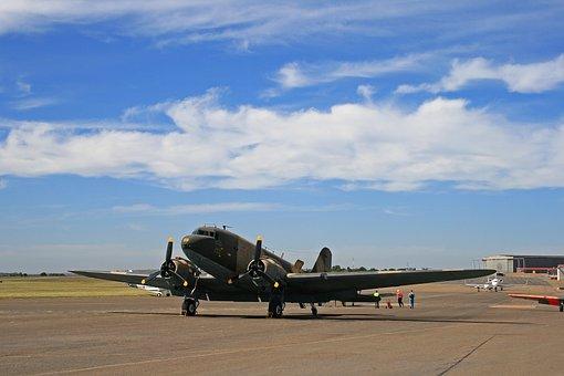 Dakota, Aircraft, C-47, Heritage, Vintage