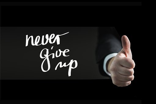 Thumb, Hand, Auto Task, Continue, Perseverance