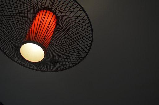 Atmosphere, Lamp, Dark Corner