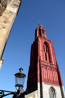 Red Church, Holland, Netherlands, Church, Dutch, Red