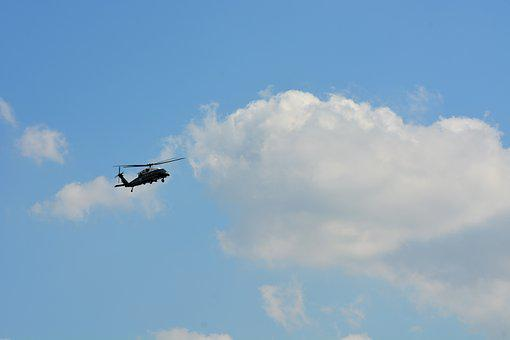 Technology, Helicopter, Fly, Aircraft, Hamburg, G20